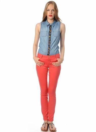 Only Pantolon Kırmızı
